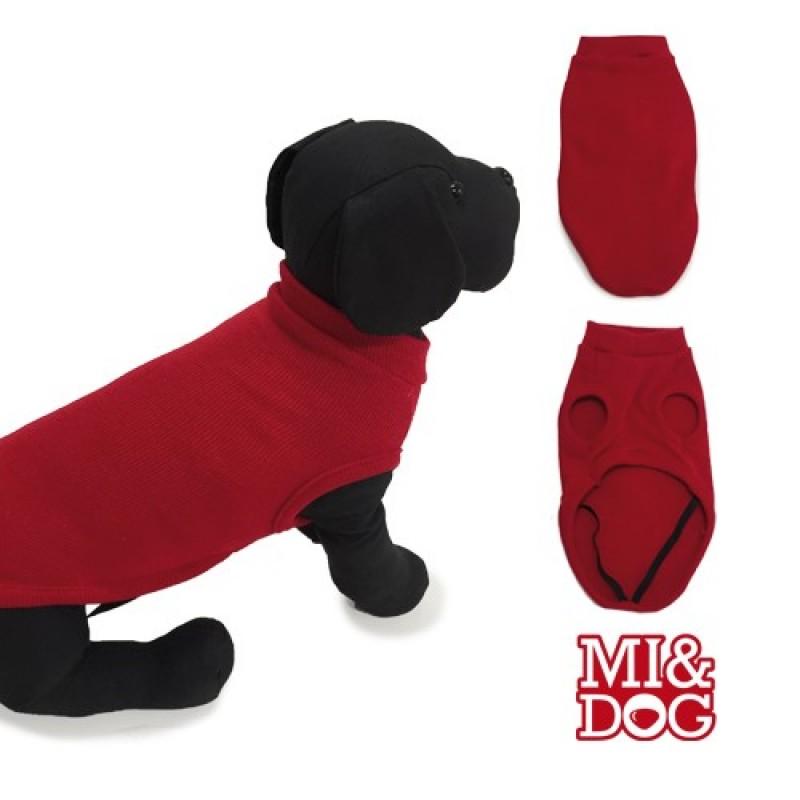 Haina MI&DOG Jersey Liso - Rosu