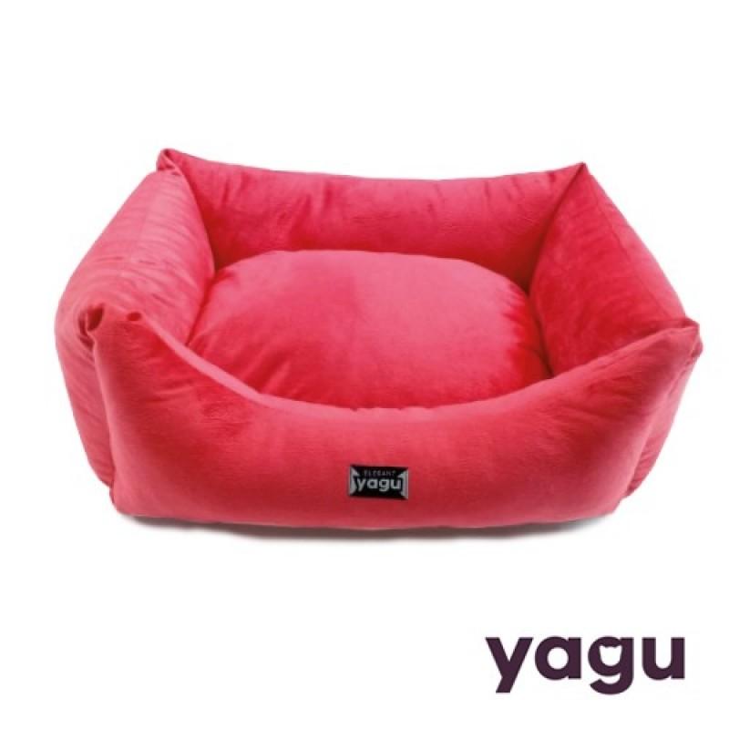 Pat YAGU Gulliver Eva de culoare rosie cu perna