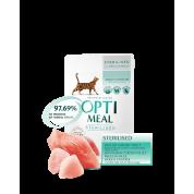 Optimeal hrana umeda pentru pisici  sterilizate  12x85 g