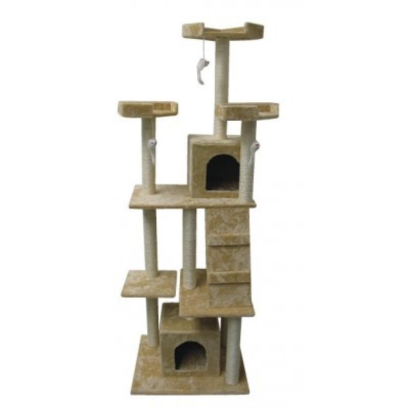 Ansamblu de joaca si odihna pentru pisici 60x50x180 cm