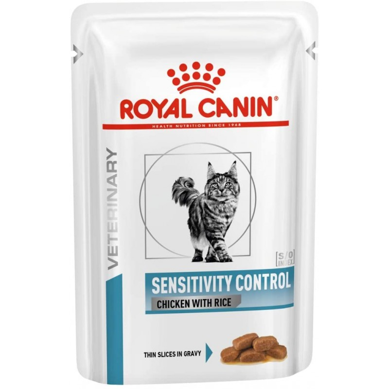 Sensitive Control CR Cat Pouch 12 x 100g