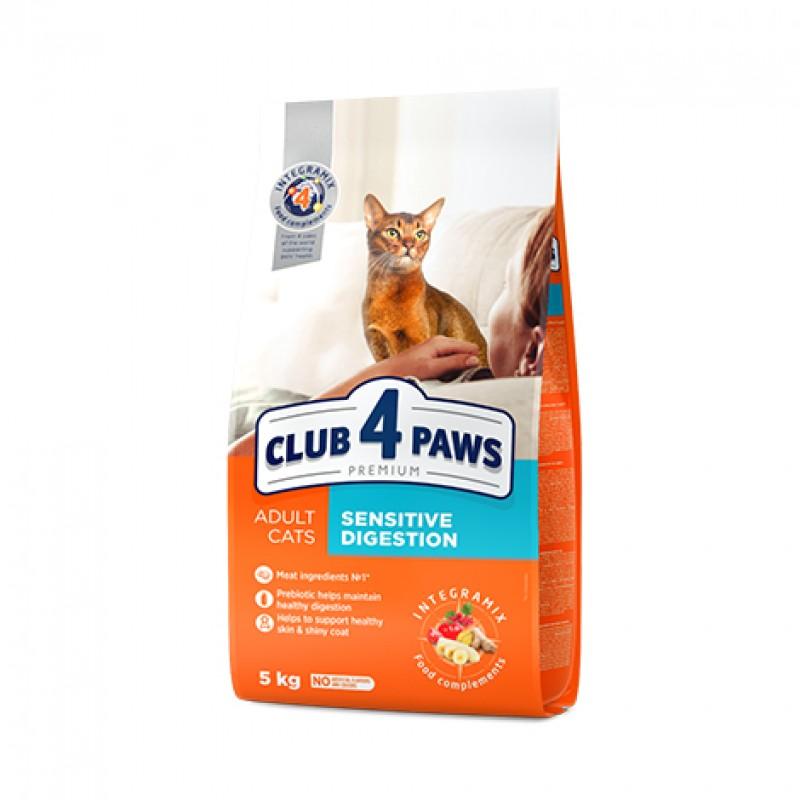 CLUB4PAWS PREMIUM PISICI- SENSITIVE 14 KG