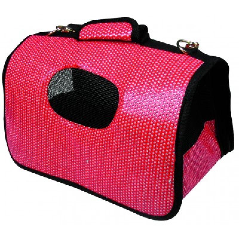 Geanta Dog Bag MY HOME  Dark Red
