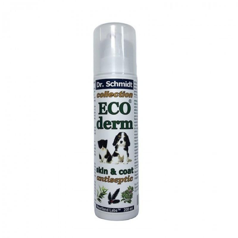 Dr. Schmidt - Eco Derm Skin&Coat - Spray antiinflamator, antiseptic si antimicotic 200 ml