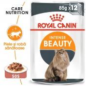 Hrana umeda Royal Canin Intense Beauty pachet 12x85 g