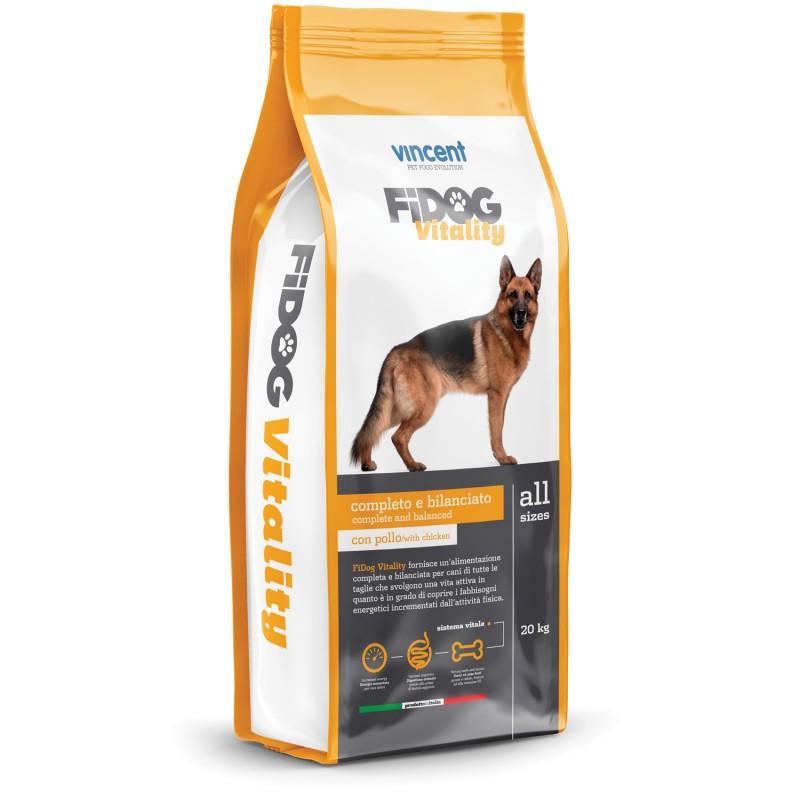 Fidog Vitality Hrana completa pentru caini activi