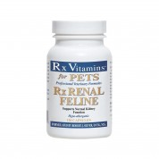 RX Vitamins Renal Support pisica - Supliment pentru sustinerea functiei renale 120 capsule