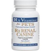 RX Vitamins Renal Suport caine - Supliment pentru sustinerea functiei renale 120 capsule