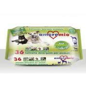 Servetele umede Lamaie - pentru animale de companie 36 bucati