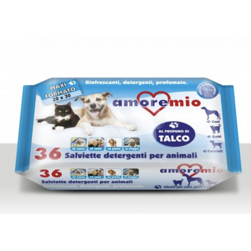 Servetele umede Talc - pentru animale de companie 36 bucati